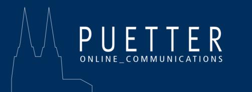 Dieses Bild hat ein leeres Alt-Attribut. Der Dateiname ist Puetter-GmbH-Logo.png
