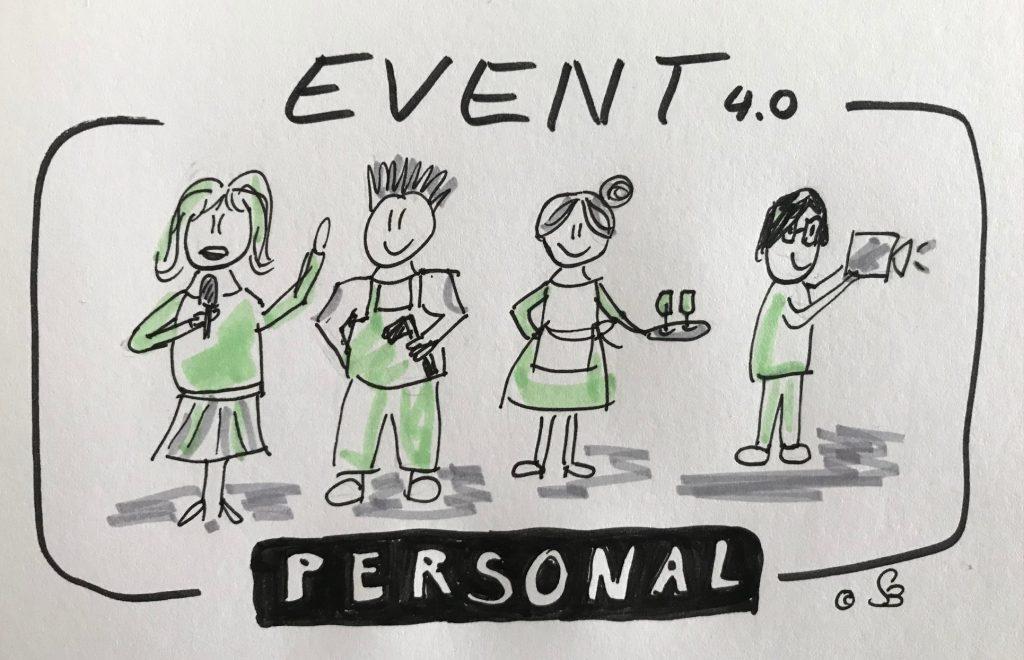 Personaleinsatz bei Events